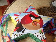How to fake an angry bird pinata