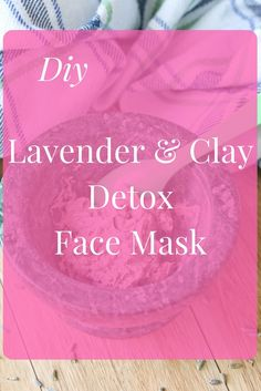 This homemade lavender clay face mask is perfect to add to your pampering routine. Clay has natural detox properties and will leave your skin refreshed and soft.