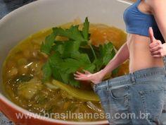 Sopa milagrosa que emagrece 1 kg por dia – Versão Creme