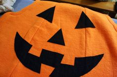 Delightfully Noted: Wicked Craft Week: Handmade Kid's Pumpkin Costume with K from Cozy Cape Cottage