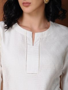 Online shopping for Kurtis in India Collar Kurti Design, Salwar Suit Neck Designs, Kurti Sleeves Design, Kurta Neck Design, Salwar Designs, Kurta Designs Women, Kurti Designs Party Wear, Chudidhar Neck Designs, Neck Designs For Suits