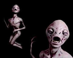 Alien Halloween Props | ALIEN DEATH - Halloween Prop