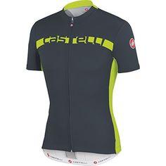 Men s Cycling Jerseys - Castelli Prologo 4 FullZip Jersey Short Sleeve Mens     Check this aa1c210d4