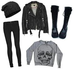 Love this outfit but i would wear combat boots or converse :) yesyesyesss high top converse or those platforms..perfect.