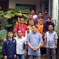 Kunjungan Guru dari mahasiswa Politeknik Banjarnegara yang sedang PKL  #eshaflora #kulturjaringan #planttissueculture #tissueculture #skalarumahtangga #bogor #kultur #kuljar #pkl #kunjungan #supervisi #politeknik #banjarnegara
