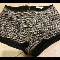 Urban Outfitters Shorts UO tweed shorts. Zip closure at back. New without tags. Size: Medium. True to size. Flexible on price ! Urban Outfitters Shorts
