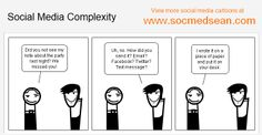 [COMIC] The Complexity Of Social Media Communications Social media…it's a whole new shift in the way we communicate, right? But are we prepared for the vast range of communication channels that are available as new social media platforms launch?