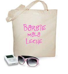 Bolsa Barbie mala leche