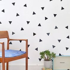 decorate your space with this simple decal DIY, removable wall art is great for renters or parties!