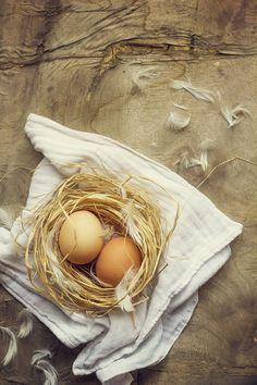 Huevos caseros por Cristina Lorenzo.