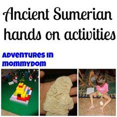 Ancient Sumerian activities