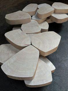 Stefan Bishop 'Patterned Platform' Tables