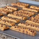 Chocolate Chip Paleo Cookie Sticks