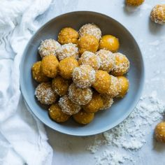 Almond balls, just the perfect go to dessert when you're craving. Plus this recipe is Gluten free, grain gree, vegetarian and vegan - ne...