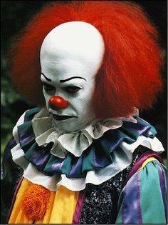 """Pennywise...why so blue?  One of the many reason's I hate clowns! """"It"""" book by Stephen King"""