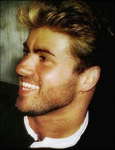 George Michael...this is how I'll always think of George...pre-Caesar stupid haircut!