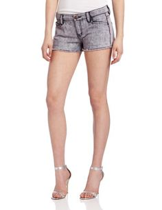 BCBGeneration Women's Woven Denim Short $19.50