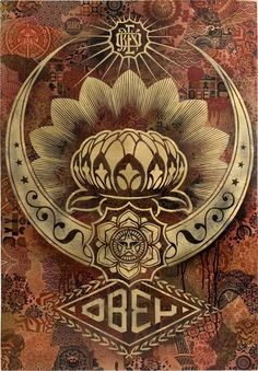Shepard Fairey Obey Psychedelic Hippie Peace Art Poster ~ ☮~ღ~*~*✿⊱ レ o √ 乇 ! ~ Shepard Fairey is a street artist who originally became known for his Andre the Giant posters in many cities across the USA. Shepard Fairey Art, Shepard Fairy, Obey Art, Illustration Photo, Wicca, Peace Art, Kunst Poster, Exhibition Poster, Street Art Graffiti