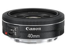 WANT: Canon EF 40mm f/2.8 STM pancake lens, $199.