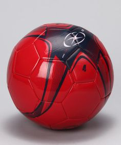 48461f409 Take a look at this Red XB1 Soccer Ball by Xara on  zulily  Fall
