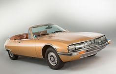 "archaictires: ""1975 Citroën SM Mylord by Chapron """