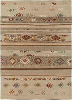 Buy the Surya Tan Direct. Shop for the Surya Tan Eastwood x Rectangle Wool Hand Knotted Southwestern Area Rug and save. Southwestern Area Rugs, Southwestern Style, Tan Rug, Orange Area Rug, Pantone Color, Color Patterns, Bohemian Rug, Design Inspiration, Wool