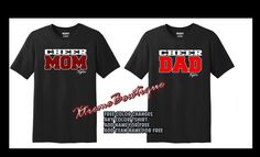 Cheer Mom Shirts, Dad To Be Shirts, Pit Crew Shirts, Types Of Shirts, Crew Neck Sweatshirt, T Shirt, Custom Shirts, Colorful Shirts, Long Sleeve Shirts