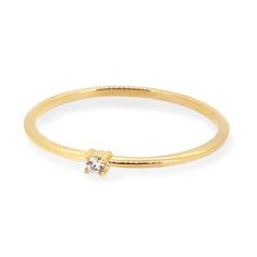 Phalange ring diamond K18 gold 1302-PAR05 e.m. #em #phalangering #midiring #diamond #gold
