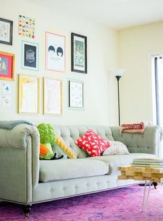Newlyweds Breathe Color into a Miami Rental