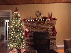 Christmas Tree, Holiday Decor, Home Decor, Teal Christmas Tree, Room Decor, Xmas Trees, Christmas Trees, Home Interior Design, Xmas Tree