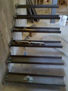 Hinged Steel Stair With Cable Rails, Blackened Steel, Designer | Custom  Metal Fabrication In Madison, Wisconsin | лестницы | Pinterest | Custom  Metal ...