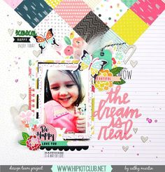 Another beautiful layout created by designer @catgmartin featuring the #june2016…