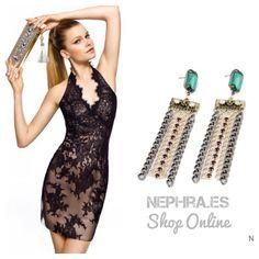 #ootd #outfit #pendientes #pendientesxl #Pendientesjoya #Pendientesmaxi #Nephra #Moda #tendencia #Estilo #azul #bisuteria #chic #chicas #lookbook #fashion #estilo #nice #cool #pretty #trendy