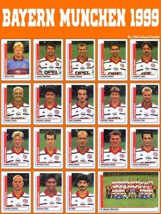 Old School Panini, Bayern München 1998-99