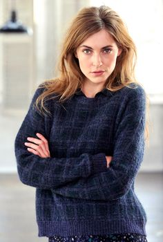 MOHAIR PLAID JUMPER - Women's Jumpers | Brora