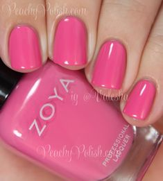 Zoya in Rooney Gorgeous Nails, Love Nails, How To Do Nails, Pretty Nails, Fun Nails, 5 Free Nail Polish, Zoya Nail Polish, Nail Polish Colors, Nail Polishes
