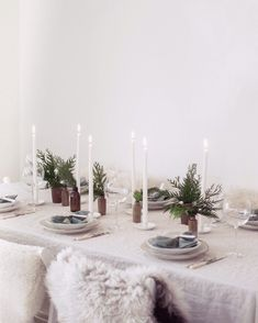 Diy Place Settings, Table Settings, Christmas Table Decorations, Christmas Wreaths, Project Table, Spring Day, How To Make Wreaths, Christmas Inspiration, Tis The Season