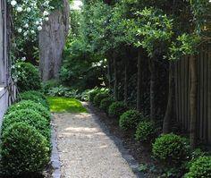 Design Sleuth: An Elegant Gravel Path via Gardenista