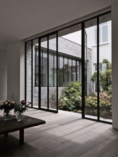 Janisol steel doors by Deknock   Aerts for Marc Merckx Interiors