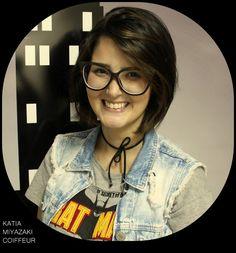 Katia Miyazaki Coiffeur - Salão de Beleza em Floripa: corte curto - pixie cut - bob hair -  corte femini...