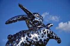 Steel Rabbit - null Rabbit, Sci Fi, Steel, Animals, Art, Bunny, Art Background, Rabbits, Science Fiction