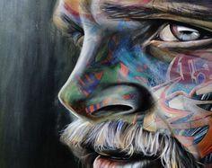 Graffiti artist,fine artist and tattoo artist all in one – Warren Petersen Grafitti Street, Graffiti Art, Art For Art Sake, Public Art, Contemporary Artists, Tattoo Artists, Pop Art, My Arts, Fine Art