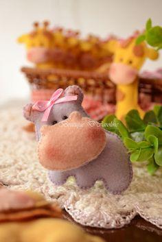 felt hippo