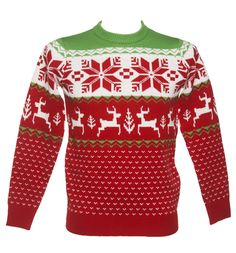 Unisex_Red_Wonderland_Knitted_Christmas_Jumper_from_Cheesy_Christmas_Jumpers_500.jpg (500×537)