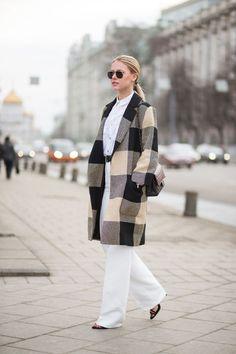 Street Style da semana de moda de Moscou 2015