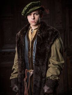 """'All dramas are costume dramas,"""" says Joanna Eatwell, in charge of dressing Mark Rylance, Damian Lewis and the huge cast of new six-hour adaptation of Hilary Mantel's Booker-winning Tudor history novels, Wolf Hall and Bring Up the Bodies. Renaissance Costume, Renaissance Clothing, Renaissance Fashion, Historical Costume, Historical Clothing, Historical Dress, Tom Holland, Costume Roi, Larp"""