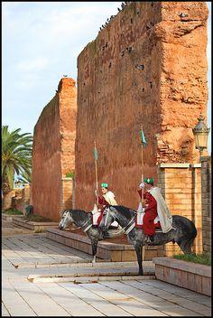 Hassan Tower . Rabat Morocco