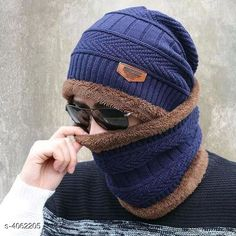 Caps & Hats Latest Attractive Men's Woollen Head & Neck Cap Beanies Combo Material: Wool Multipack: 1 Sizes: Free Size Country of Origin: India Sizes Available: Free Size *Proof of Safe Delivery! Click to know on Safety Standards of Delivery Partners- https://ltl.sh/y_nZrAV3  Catalog Rating: ★4.1 (1947)  Catalog Name: Latest Attractive Men'S Woollen Head & Neck Cap Beanies Combo CatalogID_576398 C65-SC1229 Code: 303-4062205-