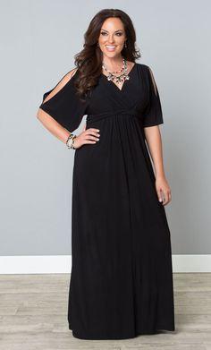 Plus Size Coastal Cold Shoulder Dress