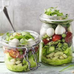 Grüner Spargel-Nudel-Salat